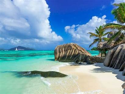 Beach Sand Water Wallpapers Tropical Country Africa