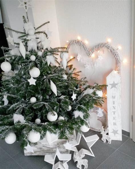 Geschmückt Modern by Sch 246 Ne Weihnachtsb 228 Ume Instagram Wohnkonfetti