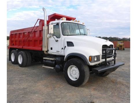 2007 mack granite cv713 dump trucks for sale 75 used