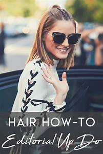Hair How-To: An Editorial Up-Do | My Style | Pinterest ...