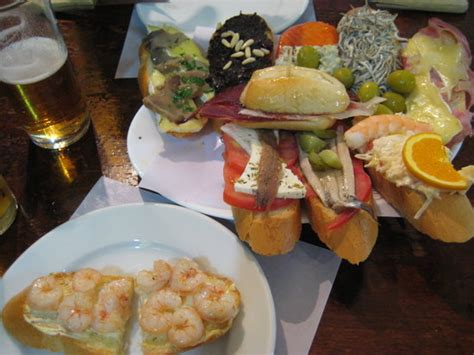 canapé madrid fly our tapas plate 2 5 euros each for total 25 euros