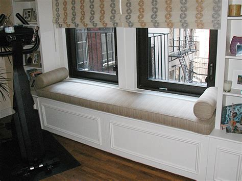 window bench cushions what is the best fabric for a window seat cushion