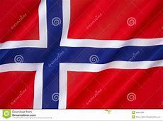 Flag Of Norway Stock Photo Image 50551208