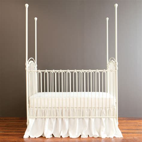 bratt decor venetian crib antique white baby crib designer nursery luxury crib