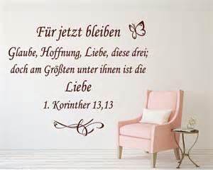 glaube lieb hoffnung sprüche christliches wandtattoo quot glaube hoffnung liebe quot 1 kor 13 13 69006