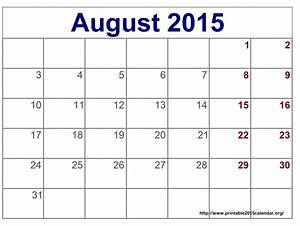 best photos of 2015 monthly calendar august august 2015 With 2015 calendar by month template