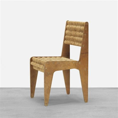 Stuhl Marcel Breuer by Marcel Breuer Birch Plywood And Jute Prototype Chair For