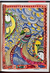 Madhubani-Indian Folk Art – Niji Creative Collective