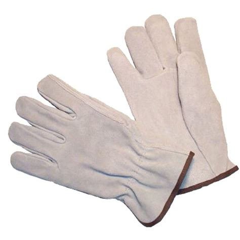 Cowhide Leather Gloves by G F Products Premium Split Cowhide Medium Thumb