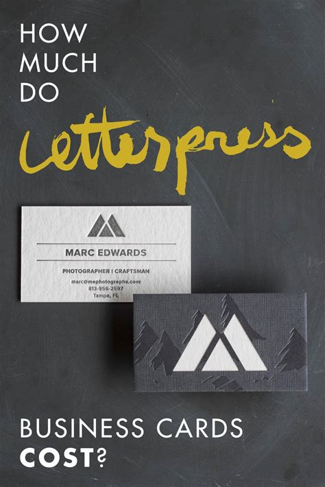 How Much Do Cost by How Much Do Letterpress Business Cards Cost A Press