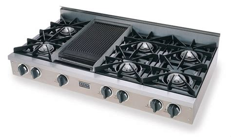 gas cooktop with grill ttn048 7 five 48 gas pro cooktop with 6
