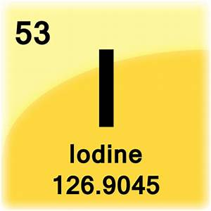Iodine Element Cell - Science Notes and Projects
