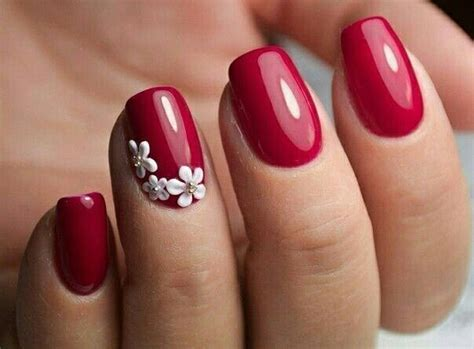 25+ Best Ideas about Red Nail Designs on Pinterest   Red ...