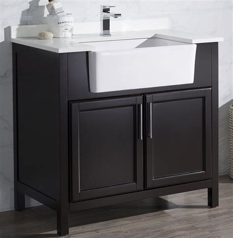apron sink bathroom vanity cool apron sink bathroom vanity