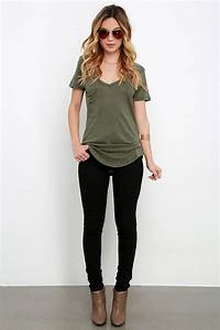 Best 25+ Olive green outfit ideas on Pinterest | Olive green jeans Army green vest and Cute jeans