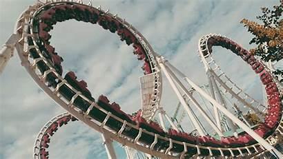 Park Amusement Roller Coaster Animated Fernando Short