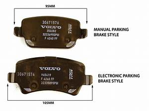 Volvo Rear Brake Pad Set