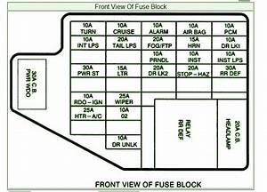 2008 Pontiac G6 Fuse Box Location