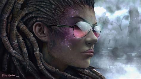 image starcraft  queen  blades sarah kerrigan girl