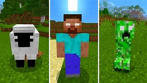 New Herobrine Mobs in Minecraft Pocket Edition (Herobrine ...