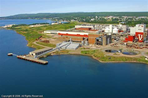 NewPage Corporation in Port Hawkesbury, Nova Scotia, Canada