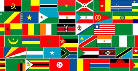 Check Out These Most Colorful African Flags