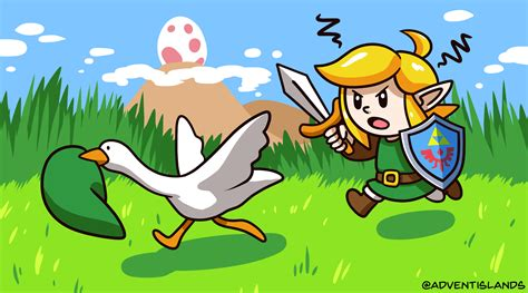 drew  inspired  untitled goose game  links