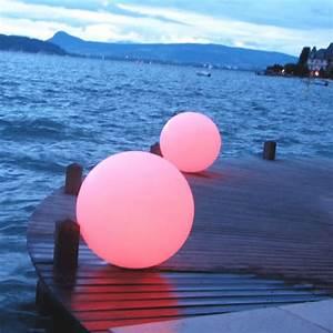 Boule Lumineuse Exterieur : boule lumineuse led patio 35 cm boules lumineuses sans fil ~ Teatrodelosmanantiales.com Idées de Décoration