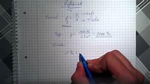 Luftdruck Berechnen : luftdruck ausrechnen formel f r luftdruck youtube ~ Themetempest.com Abrechnung