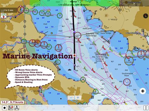 Boat Gps With Charts by Marine Navigation Lake Depth Maps Usa Offline Gps