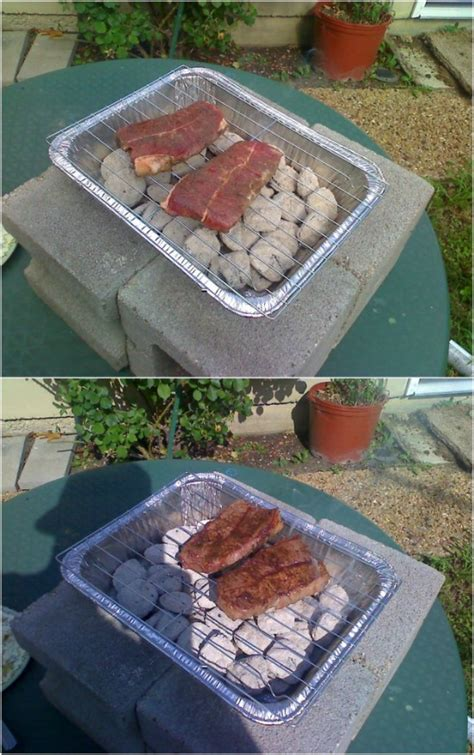 cheap  easy ideas  diy barbecue grills style