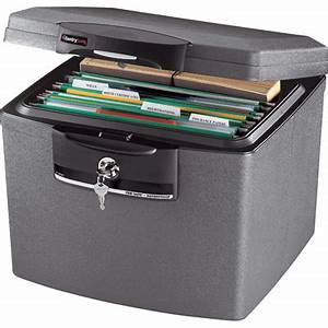 organizing documents in case you die With document safe box