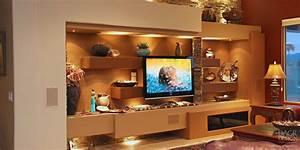 custom media wall home entertainment center design With home entertainment center design ideas
