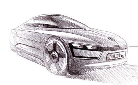 Vw L1 Concept Design Sketch  Car Body Design