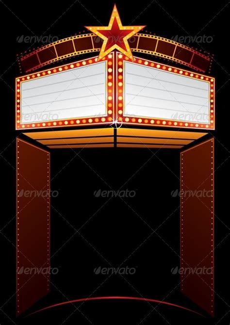 Movie Billboard Clip Art premiere academy announcement awards 590 x 834 · jpeg