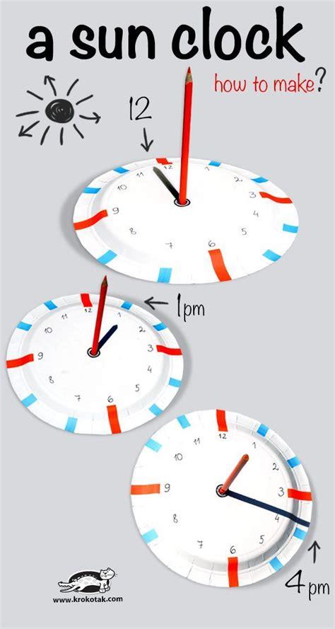 DIY Sundial | Elementary stem activities, Sun activity ...