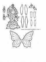Coloring Puppet Pages Nights Five Freddys Master Paper Dolls Popular Puppets Handy Coloringhome sketch template