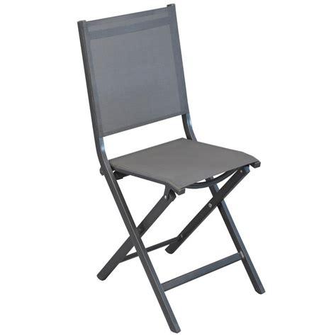 chaise pliante aluminium textilene chaise de jardin pliante textilene