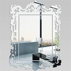 Miroir Verriere Pas Cher : miroir plexiglass acrylique baroque pas cher ~ Teatrodelosmanantiales.com Idées de Décoration