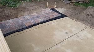 brick patio base materials