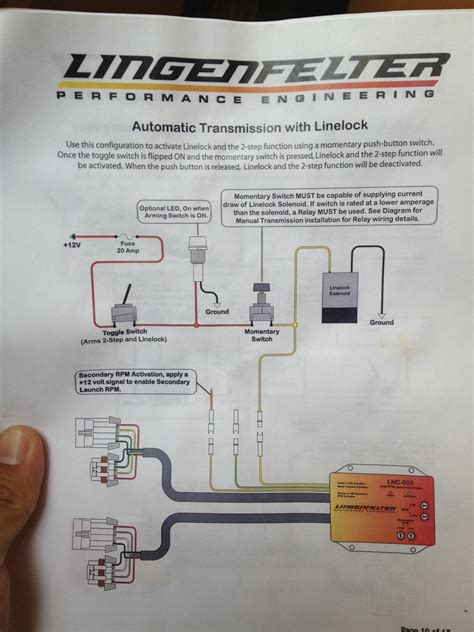 lpe 2 step wiring for 4l60e with line lock no trans