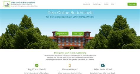 Ausbildung Garten Und Landschaftsbau Berichtsheft by Startseite Augala