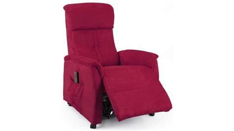 fauteuil releveur 233 lectrique microfibre fauteuil d 233 tente pas cher