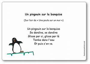 Pingouin Sur La Banquise : comptine un pingouin sur la banquise paroles illustr es imprimer un pingouin sur la banquise ~ Melissatoandfro.com Idées de Décoration