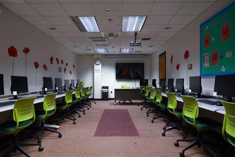 rutgers empty computer labs put   testing