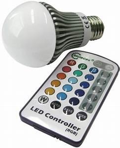 Lampe Mit Farbwechsel : dimmbare rgb led lampe 5w e27 farbwechsel led birne spar ~ Orissabook.com Haus und Dekorationen