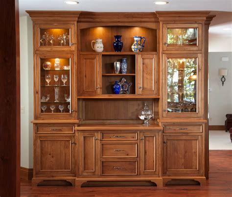 Mullet Cabinet — Knotty Cherry Lake House Kitchen
