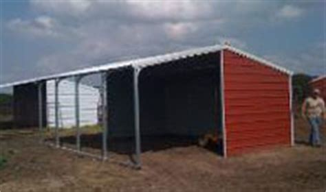 metal loafing shed kits shelter kits barns and agriculture buildings
