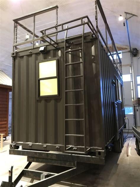 vista  shipping container tiny house  escape