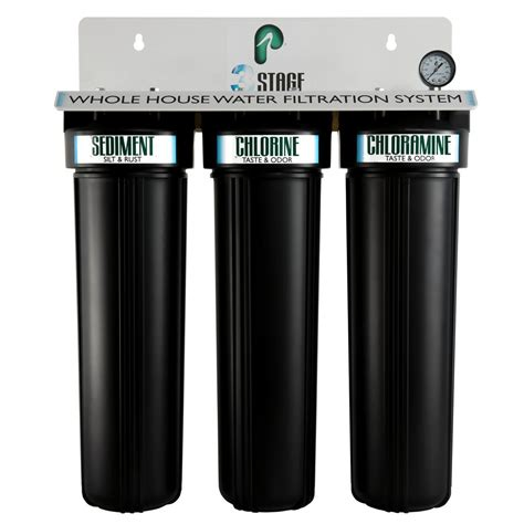 Water Filtration System For Home by Pelican Water 3 Stage Whole House Water Filtration System
